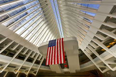 World Trade Center Oculus - de Stad van New York Stock Foto