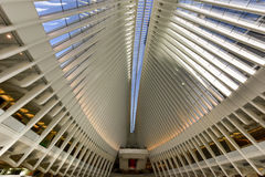 World Trade Center Oculus - de Stad van New York Stock Fotografie