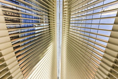 World Trade Center Oculus - de Stad van New York Royalty-vrije Stock Afbeelding