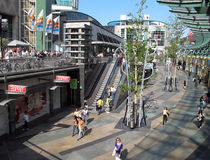 World trade center in Rotterdam Stock Photos