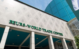 World Trade Center Rotterdam Imagenes de archivo