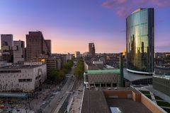 World trade center Rotterdam royalty free stock photo