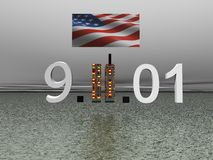 World trade center september 11 Royalty Free Stock Image
