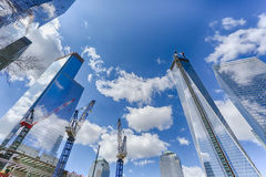 World Trade Center Site Stock Photo