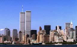 Free World Trade Center Towers NYC 1999 Royalty Free Stock Photo - 155983495
