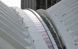 World Trade Center Transportation Building Stock Photo