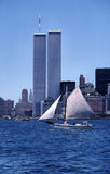 World Trade Center Twin Towers Stock Image
