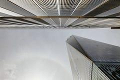 World Trade Center underifrån Royaltyfria Foton