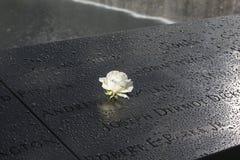 World Trade Center, WTC, Bodennullpunkt, New York City Stockbild