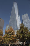 World Trade Center, WTC, point zéro, New York City Image stock