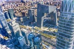 World Trade Center Z15 står högt det skyskrapaGuamao området Beiji Arkivbild