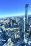 World Trade Center Z15 står högt det skyskrapaGuamao området Beiji Arkivbilder
