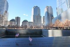 World Trade Centermitt och 9/11 minnes- New York, USA Royaltyfri Bild