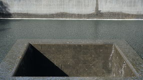 World Trade Centre Memorial - Close Up Stock Photos