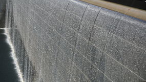 World Trade Centre Memorial - Water Fall Stock Images