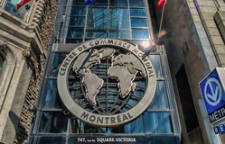 The World Trade Centre Montreal Stock Photos