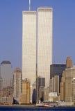 World Trade Towers, New York City, NY Royalty Free Stock Photography