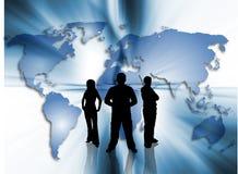 World trading. Conceptual image depicting world trading