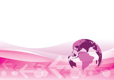 World Trading Background Royalty Free Stock Images