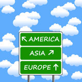 World travel vector illustration