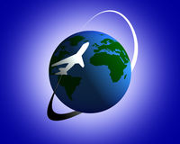 World Travel Fotografía de archivo