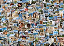 World travel collage Stock Photography