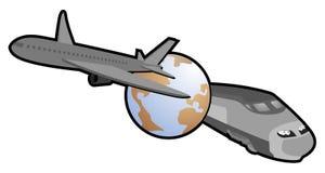 World travel. Creative design of world travel icon Royalty Free Stock Photos