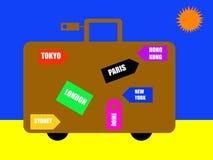 World travel destinations Royalty Free Stock Image