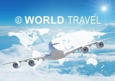 World Travel header Stock Photos