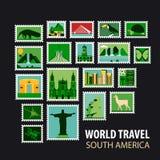 World Travel. Icons set. Royalty Free Stock Images