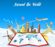 Free World Travel. Planning Summer Vacations. Stock Images - 70499594