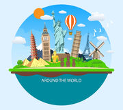 World Travel. Planning summer vacations. Stock Photography