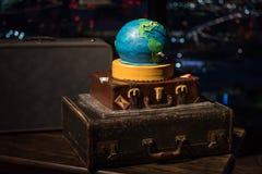 World Traveler Wedding Cake Royalty Free Stock Image