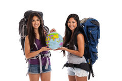 World travelers Stock Images