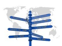 World traveller Stock Images