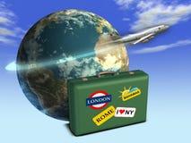 World travels Stock Image