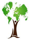 World tree stock illustration