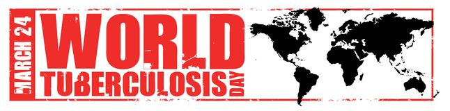 World tuberculosis day Royalty Free Stock Image