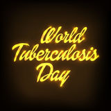 World Tuberculosis Day Stock Images
