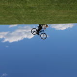 The World Turned Upside Down stock images