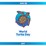 World Turtle Day, May 23 Stock Image