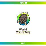 World Turtle Day, May 23 Stock Images
