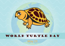 World Turtle Day Royalty Free Stock Photography