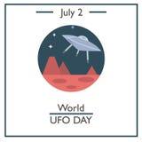 World Ufo Day, July 2 Royalty Free Stock Photo