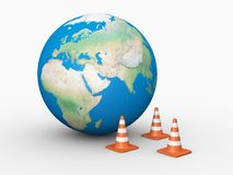 World Under Construction Stock Images