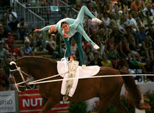 World vaulting championship Stock Photo