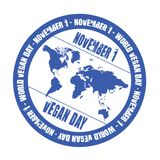 World vegan day stock photography