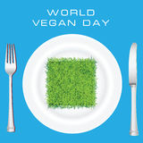World Vegan Day Stock Photography