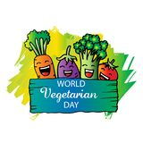 World vegetarian day Royalty Free Stock Images