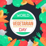 World Vegetarian Day Stock Photography